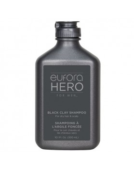 Eufora International Hero for Men Black Clay Shampoo